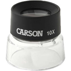 Carson LL-10 10x LumiLoupe Craft Loupe