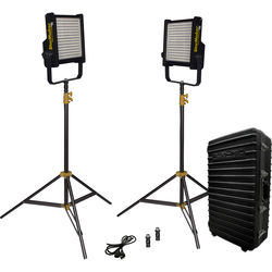 Fluotec StarMaker IP65 Tunable V-Mount 2-Light Kit