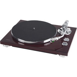 Teac TN-400S Belt-Drive Turntable with Phono Amplifier and USB (Gloss Cherry, Audio-Technica AT100E Cartridge)
