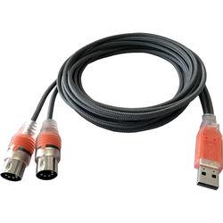 ESI MIDIMATE eX USB MIDI Interface Cable with Two I/O Ports (5.9')