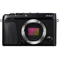 Fujifilm X-E3 Mirrorless Digital Camera (Body Only, Black)