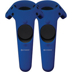 HYPERKIN GelShell Silicone Skin for HTC Vive Controllers (2-Pack, Blue)