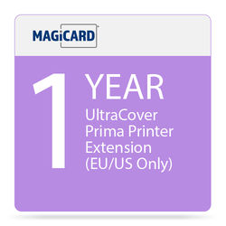 Magicard 1-Year UltraCoverPlus Warranty Extension for Prima ID Card Printer