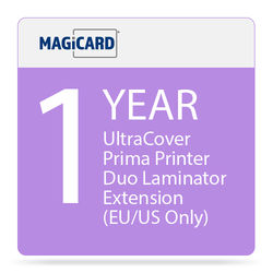 Magicard 1-Year UltraCoverPlus Warranty Extension for Prima Duo Laminator