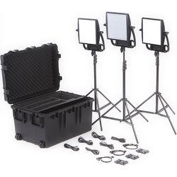 Litepanels Astra Bi-Color LED Traveler Trio Kit (V-Mount)