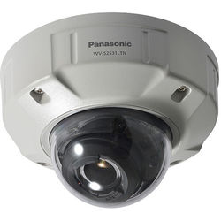Panasonic WV-S2531LTN 1080P Outdoor Vandal-Resistant Dome Camera with 9-21mm Lens