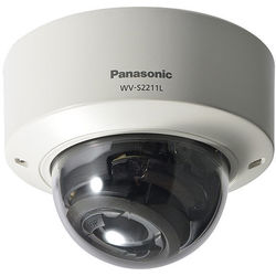 Panasonic WV-S2211L i-PRO Extreme 1.3MP Vandal-Resistant Network Dome Camera with Night Vision