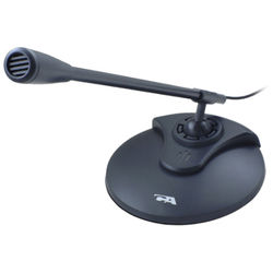 Cyber Acoustics ACM-51B Omnidirectional Dynamic Desktop Microphone