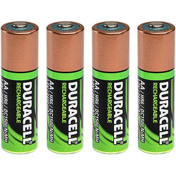 Foxfury Duracell AA DC1500 Rechargeable NiMH Battery for Breakthrough BT2-IS Intrinsically Safe Hybrid Light (2450mAh, 4-Pack)