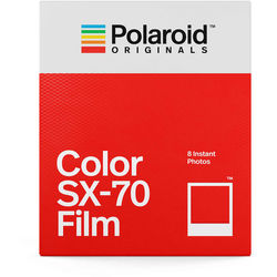 Polaroid Originals Color SX-70 Instant Film (8 Exposures)