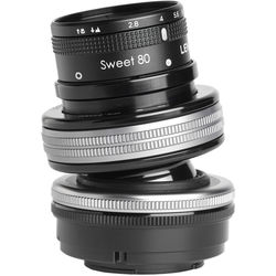 Lensbaby Composer Pro II with Sweet 80 Optic for Micro Four Thirds
