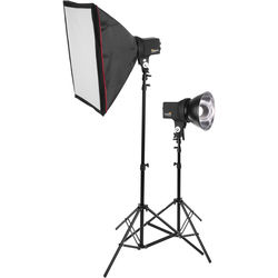 Impact EX-100A 2-Monolight Kit with Softboxes and Stands