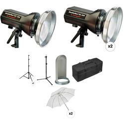 Photogenic StudioMax III 3-Light Portrait Studio Kit (120V)