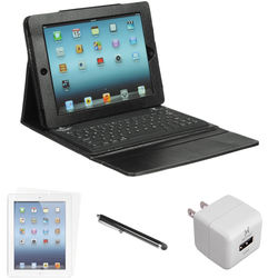 Xuma Silicone Bluetooth Keyboard Case with Accessories Kit for iPad 2nd, 3rd, 4th Gen