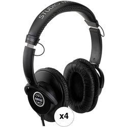 Senal SMH-500 Closed-Back Professional Monitor Headphones (4-Pack)