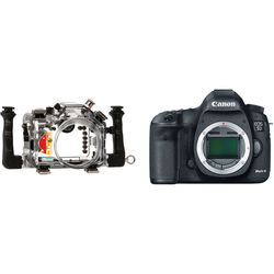 Nimar Underwater Housing with Lens Port for EF 24-105mm f/4 and Canon EOS 5D Mark III Camera Body Kit