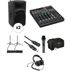 "Mackie 1000W HD Portable 12"" Powered Loudspeaker Large Kit"