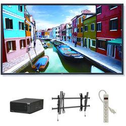 "NEC 46"" Digital Signage Kit with Mvix Xhibit Live HDTV and Landscape Wall-Mount"