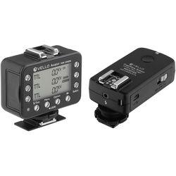 Vello FreeWave Aviator Wireless Flash Trigger Transceiver & Receiver Kit for Canon