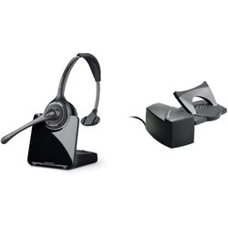 Plantronics CS510 Wireless Monaural Headset Kit with HL10 Handset Lifter for Savi Wireless System