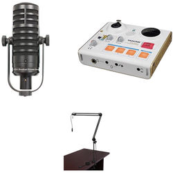 MXL BCD-1 Live Broadcast Mic and Tascam US-32 Interface Broadcast Kit