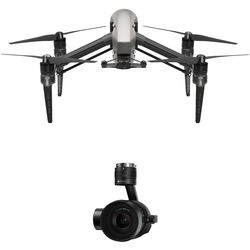 DJI Inspire 2 Quadcopter Combo with Zenmuse X5S and CinemaDNG and Apple ProRes Licenses