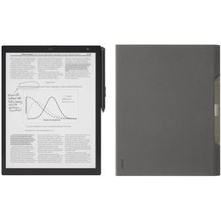 "Sony 13.3"" 16GB DPT-RP1 Digital Paper System & Gray Cover Kit"