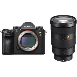 Sony Alpha a9 Mirrorless Digital Camera with 24-70mm f/2.8 Lens Kit