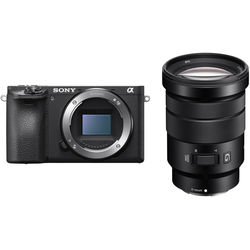 Sony Alpha a6500 Mirrorless Digital Camera with 18-105mm Lens Kit