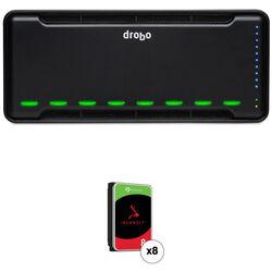 Drobo B810n 64TB 8-Bay NAS Enclosure Kit with Seagate NAS Drives (8 x 8TB)