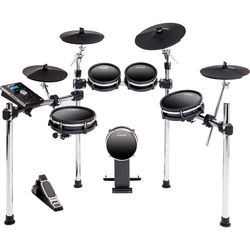 Alesis DM10 MKII Studio Kit, Nine-Piece Electronic Drum Kit with Mesh Heads