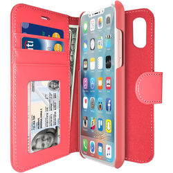 iLuv Diary Case for iPhone X (Pink)