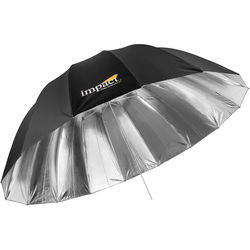 "Impact X-Large Improved Deep Silver Umbrella (65"")"