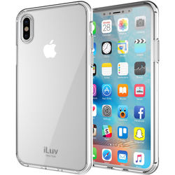 iLuv Vyneer Case for iPhone X/Xs (Clear)