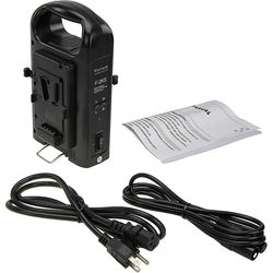 FotodioX F-2KS Dual-Position Charger for V-Mount Batteries