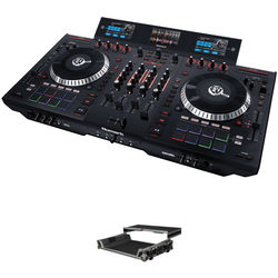Numark NS7 III 4-Deck Serato DJ Controller Kit with Hard Case