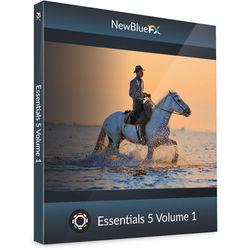 NewBlueFX Essentials 5 Volume 1 (Download)