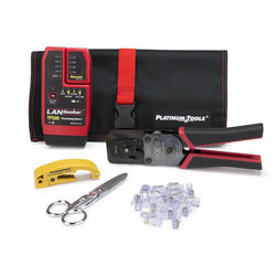 Platinum Tools EXO ezEX-RJ45 Termination and Test Kit