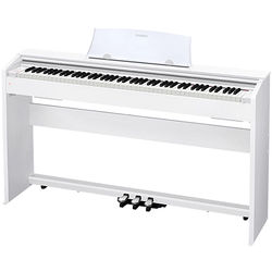 Casio PX-770WE Privia 88-Key Digital Piano (White)