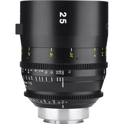 Tokina 25mm T1.5 Cinema Vista Prime Lens (EF Mount, Focus Scale in Feet)