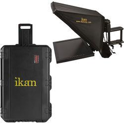 ikan PT3700 Teleprompter & Hard Case Travel Kit