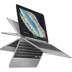 "ASUS 10.1"" C101PA-DB02 Multi-Touch 2-in-1 Chromebook Flip"