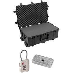 Pelican 1650 Case with Foam Set, TSA Lock, Desiccant Gel (B&H Kit)