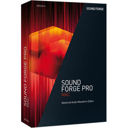 MAGIX Entertainment SOUND FORGE PRO Mac 3 Upgrade - Audio Waveform Editor (Educational, Download)