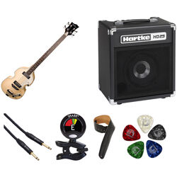 Jay Turser JTB-2B Semi-Hollow Body Electric Bass Starter Kit
