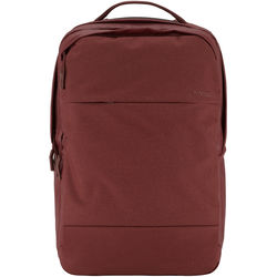 """Incase Designs Corp City Backpack for 17"""" MacBook Pro (Deep Red)"""