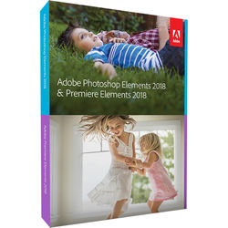 Adobe Photoshop Elements & Premiere Elements 2018 (Mac & Windows, Disc)