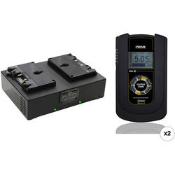 Core SWX Two HyperCore Prime 190Wh Batteries & Fleet Dual Charger Kit (Gold-Mount)