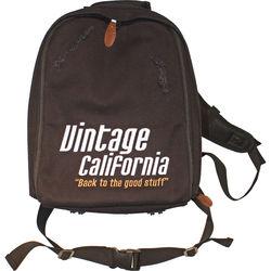 Klein Electronics Vintage California Branded Camera Backpack (Black)