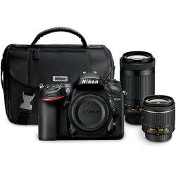 Nikon D7200 DSLR Camera with 18-55mm and 70-300mm Lenses Kit